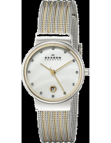 Chic Time | Montre Femme Skagen 355SSGS Argent XS  | Prix : 129,00€