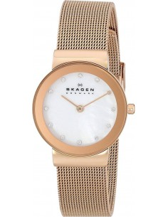 Chic Time | Montre Femme Skagen 358SRRD Or Rose  | Prix : 111,20 €