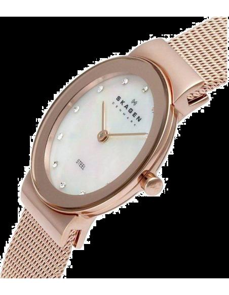 Chic Time | Montre Femme Skagen 358SRRD Or Rose  | Prix : 111,20€