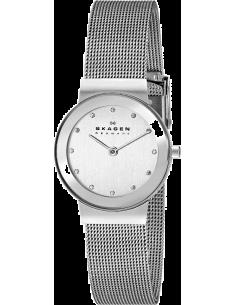 Chic Time | Montre Femme Skagen Freja 358SSSD Design épuré bracelet acier  | Prix : 95,20€
