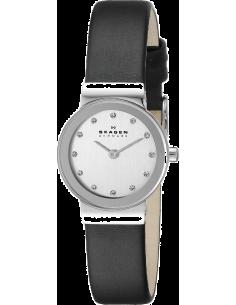 Chic Time | Montre Femme Skagen Freja 358XSSLBC Noire Design classique et épuré  | Prix : 142,43€