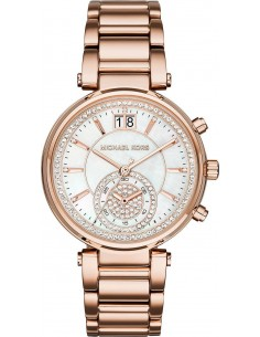 Chic Time | Montre Femme Michael Kors Sawyer MK6282 Or Rose  | Prix : 279,65 €