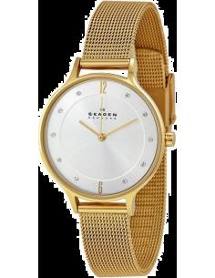 Chic Time | Montre Skagen Anita SKW2150 Bracelet doré à mailles milanaises  | Prix : 74,50€