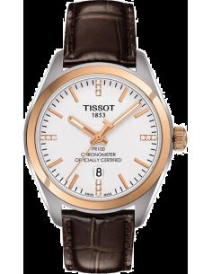 Chic Time   Montre Femme Tissot PR 100 T1012512603600 Marron    Prix : 523,79€