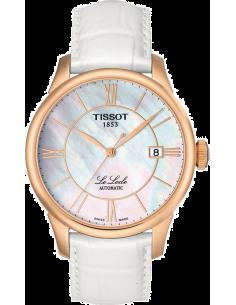 Chic Time | Montre Femme Tissot Le Locle T41645383 Blanc  | Prix : 545,00€