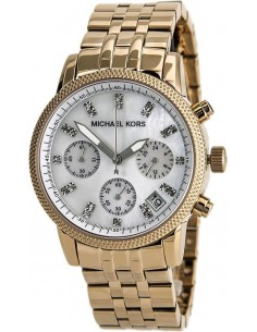 Chic Time | Montre Femme Michael Kors MK5026 Or Rose  | Prix : 203,15 €