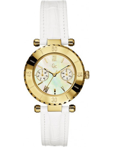 Chic Time | Montre Femme Guess Collection I25039L1 Blanc  | Prix : 337,10 €