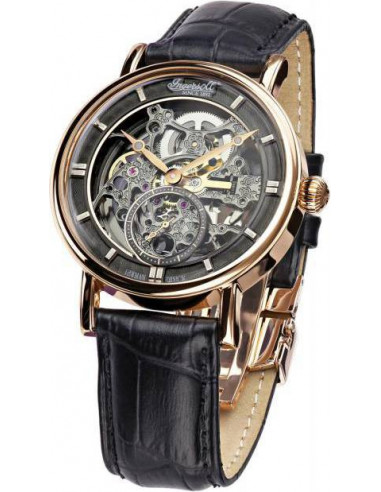 Chic Time | Montre Homme Ingersoll Classic IN1918RBK Noir  | Prix : 349,00€