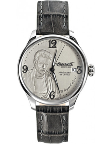 Chic Time | Montre Homme Ingersoll Archive IN8013GY Gris  | Prix : 179,00€