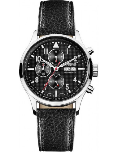 Chic Time | Montre Homme Ingersoll IN1412GY Noir  | Prix : 309,00€