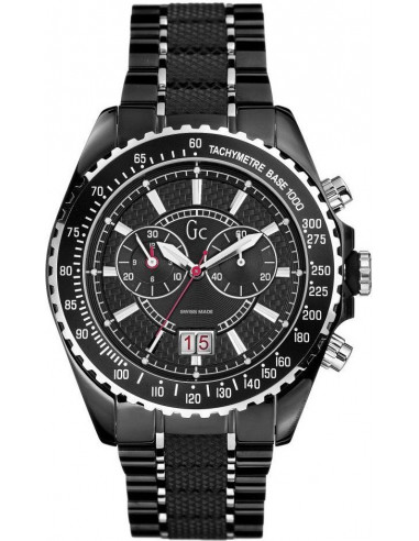 Chic Time | Montre Guess Collection Sport I46001G2 Noire pour Homme  | Prix : 559,90€