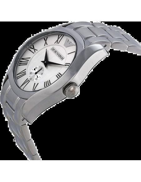 Chic Time | Montre Homme Emporio Armani Classic AR0647 Argent Bracelet acier  | Prix : 259,00€