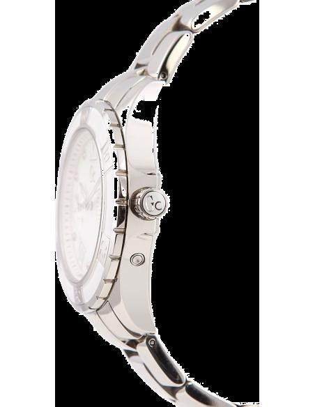 Chic Time | Montre Femme Guess Collection X75102L1S Argent Lunette crantée  | Prix : 479,20€