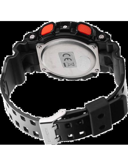 Chic Time | Montre Homme Casio G-Shock GD-100HC-1ER Noire Cadran digital  | Prix : 98,10€