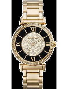 Chic Time | Montre Femme Michael Kors MK3338 Coloris or et noir  | Prix : 259,00€