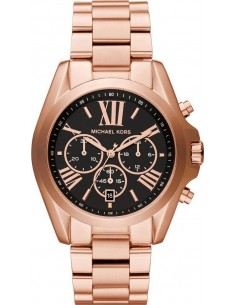 Chic Time | Montre Femme Michael Kors Bradshaw MK5854 Or Rose  | Prix : 237,15 €