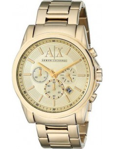 Chic Time   Montre Homme Armani Exchange AX2099 Or    Prix : 239,00€