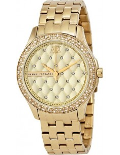 Chic Time | Montre Femme Armani Exchange AX5216 Or  | Prix : 299,00 €