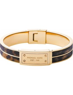 Chic Time | Bracelet Michael Kors Jet Set MKJ2247710 coloris marron et doré  | Prix : 99,90€