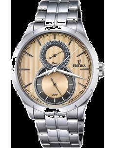 Chic Time | Montre Homme Festina Retro F16891/4 Argent  | Prix : 139,00€