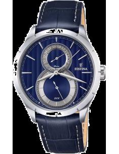Chic Time | Montre Homme Festina Retro F16892/3 Bleu  | Prix : 129,00€