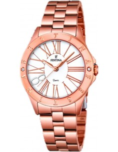 Chic Time | Montre Femme Festina Boyfriend F16926/1 Or Rose  | Prix : 139,00 €