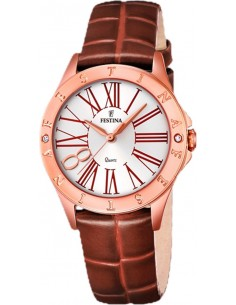 Chic Time | Montre Femme Festina Boyfriend F16930/3 Marron  | Prix : 119,00 €