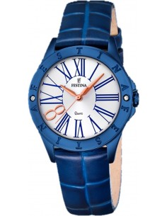 Chic Time | Montre Femme Festina Boyfriend F16931/1 Bleu  | Prix : 119,00€