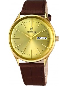 Chic Time | Montre Homme Festina Multifunction F6838/2 Marron  | Prix : 139,00 €