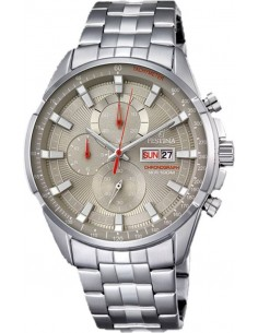 Chic Time | Montre Chronographe Festina Sport F6844/2 Argent  | Prix : 159,00€