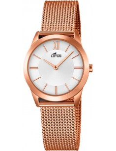 Chic Time | Montre Femme Lotus Trendy L18293/1 Or Rose  | Prix : 139,00 €