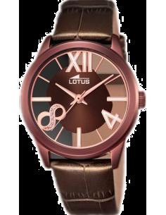 Chic Time | Montre Femme Lotus Trendy L18309/1 Marron  | Prix : 139,00€