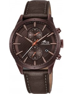 Chic Time | Montre Homme Lotus L18316/1 Marron  | Prix : 189,00 €