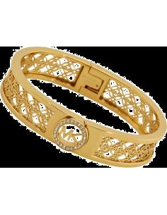 Chic Time | Bracelet Michael Kors MKJ4270710 couleur or logo MK  | Prix : 111,30€