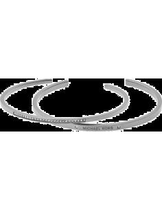 Chic Time | Bracelet Michael Kors MKJ4819040 coloris argent ouvert  | Prix : 95,20€