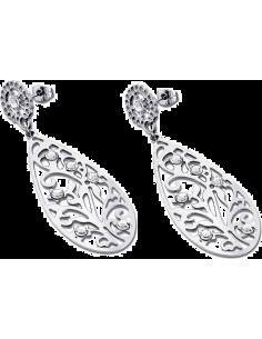 Chic Time | Boucles d'oreilles Lotus Privilege LS1594-4/1 motif feuille  | Prix : 15,60€