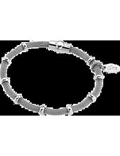 Chic Time | Bracelet Lotus Basic LS1680-2/1 maille milanaise argentée  | Prix : 20,30€