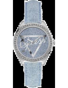 Chic Time | Montre Femme Guess W0456L10 Bleu  | Prix : 189,00€