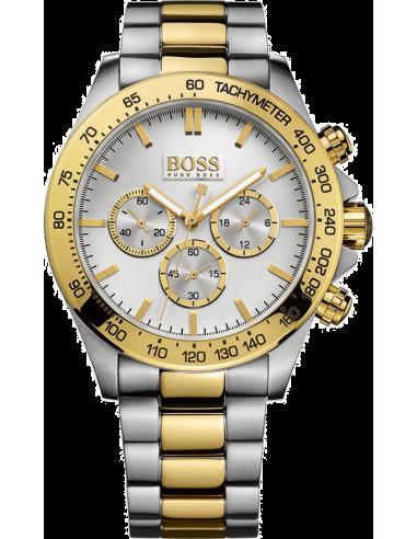 Chic Time   Montre Homme Hugo Boss Ikon Chronomètre 1512960 Or et acier    Prix : 344,25€