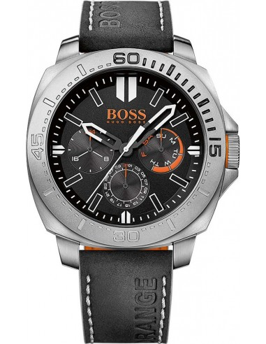 Chic Time | Montre Homme Hugo Boss Boss Orange 1513298 Noir  | Prix : 194,65 €