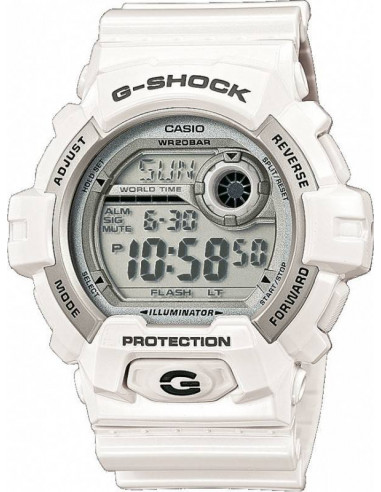 Chic Time | Montre Homme Casio G-Shock G-8900A-7ER Blanc  | Prix : 89,91 €