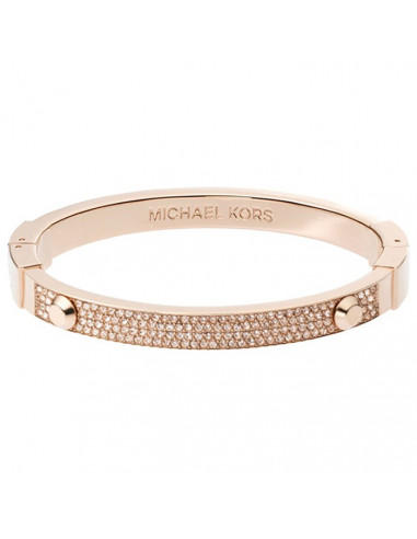 Bracelet Michael Kors Brilliance MKJ2747791 coloris or rose strass