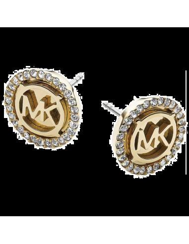 Boucles d'oreilles Michael Kors MKJ2941710 strass et logo