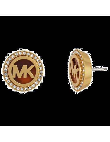 Boucles d'oreilles Michael Kors MKJ2943710 couleur or strass