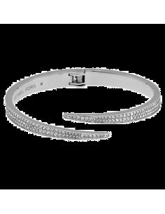 Chic Time | Bracelet Michael Kors Brilliance Matchstick MKJ3510040 style ouvert  | Prix : 119,20€
