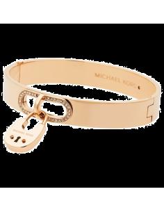 Chic Time | Bracelet Michael Kors MKJ4610710 fermoir strassé  | Prix : 111,20€