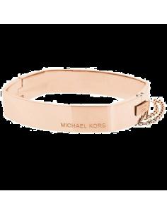 Chic Time | Bracelet Michael Kors MKJ4658791 rigide couleur rose  | Prix : 119,20€