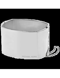 Chic Time | Bracelet Michael Kors MKJ4853040 large coloris argenté  | Prix : 95,20€