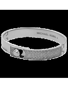 Chic Time | Bracelet Michael Kors MKJ4903040 couleur argent et strass  | Prix : 119,20€