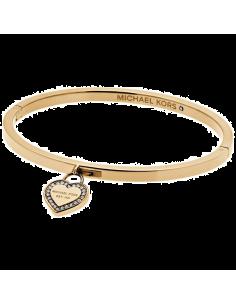 Chic Time | Bracelet Michael Kors MKJ5037710 doré breloque coeur   | Prix : 83,30€